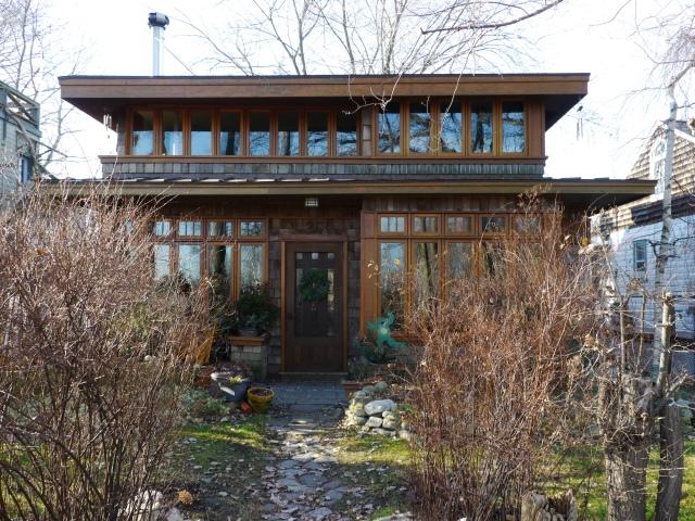 Une maison comme ça, ça vous tente pas? Regardez la prochaine photo pour découvrir la vue qu'ont les habitants ;)