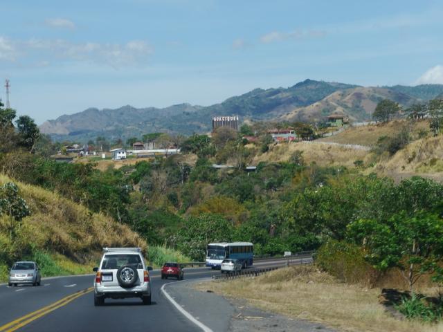 Les routes sont souvent sur une voie