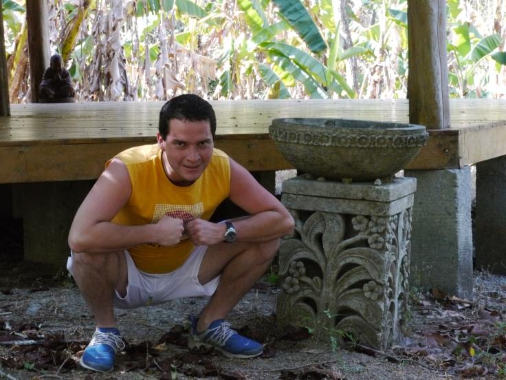 Ici, nous avons un spécimen parfait de l'autochtone vivant au fond de la jungle