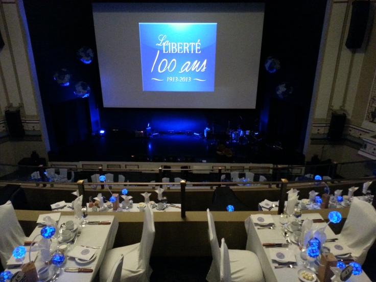Plus de 500 personnes étaient présentes au gala du journal.