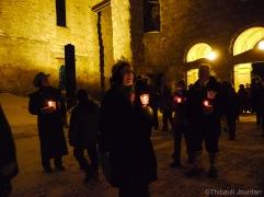 Les cloches de la cathédrale ont résonné pour accueillir les voyageurs d'un soir / Cathedral's bells rang to welcome one-night explorers