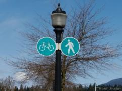 Vancouver est une ville très sportive, adaptée aux piétons comme aux cyclistes.