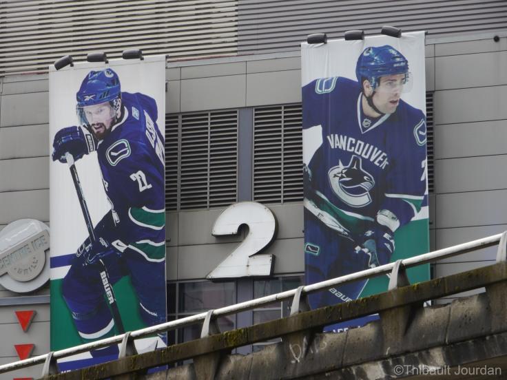 Bienvenue dans l'antre de l'équipe de hockey de Vancouver!