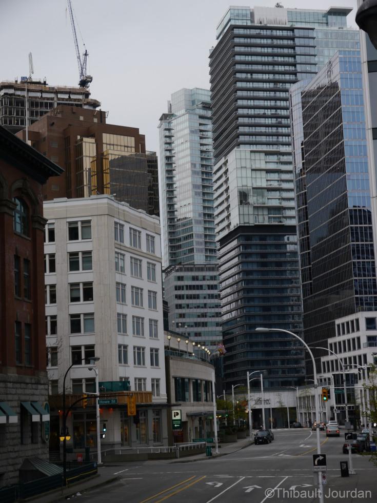 La densité à Vancouver est impressionnante.