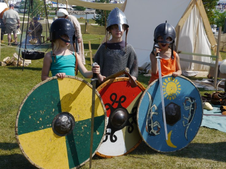 Des petits Vikings / Little Vikings
