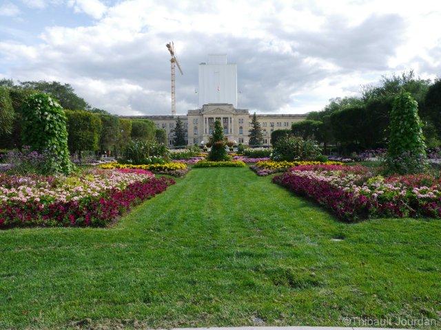 Le palais législatif de la Saskatchewan / The Saskatchewan legislature