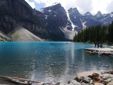Le lac Morrain vaut le coup d'oeil.