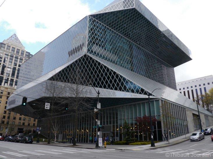 La bibliothèque de Seattle